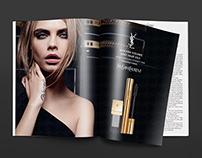 YSL Magazine ads