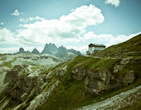 The Dolomite Alps