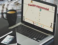 Guion-Función exponencial/ Profe en c@sa