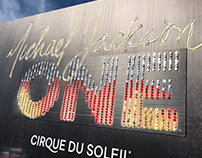 Embellished Billboard - Michael Jackson ONE