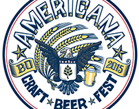 Americana Craft Beer Fest Logo