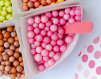 Dippin' Dots Package Design