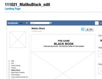 Wireframes | User Flows - Malibu Rum Facebook App