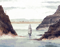 The Ship I Digital Painting