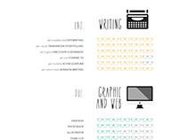 resumé | an infographic