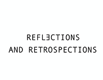 Reflections and Retrospections - Concept Shoot
