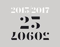 2015-2017 | 25 logos