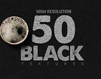 50 Black Textures