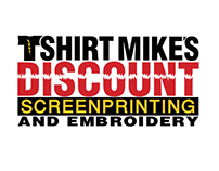 TShirt Mike's Discount Screenprinting logo