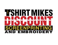 TShirt Mike's Discount Screenprinting logo
