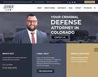 Joyner Law website