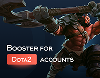 Web site for Dota 2 boost account
