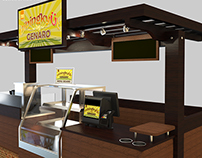 Bibingkyut by Genaro - Kiosk Design