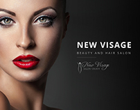 New Visage - corporative site for beauty & hair salon