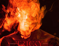 TRICKY / ADRIAN THAWS ALBUM ARTWORK
