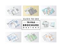 Tri-Fold Brochure Designs