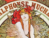 Website Layouts: Alphonse Mucha