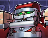 Mecha Santa + tutorial