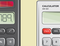 Calculator Illustrations