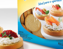 Bauducco Canapé Toast Package