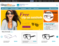 GlassesShop Redesign