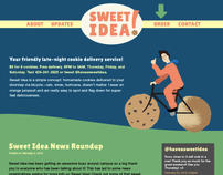 Sweet Idea! branding & website