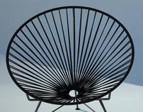 Acapulco wire garden chair