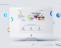 Landing page website design