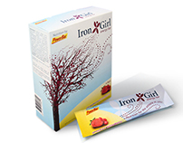 Iron Girl Package Redesign