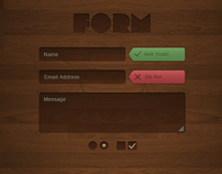 Wild Wood UI Kit