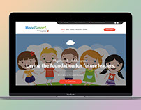HeadSmart Preschool website by StartTall Branding