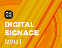 Digital Signage - Fone Zone Campaigns [2012]