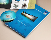 Folder and Inserts Design for Kirloskar Electric Co.