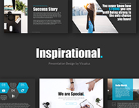 Inspirational Powerpoint Template by vizualus