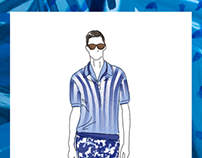 Pitti immagine style report illustrations