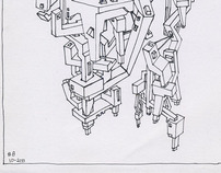 Architectural Doodling #1 - #13