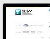 FINSAA - Logo, Web Design e Web Development