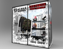VANS Apparel & Snowboot Display @ SIA
