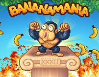 Pixelart for Bananamania - HTML5 game