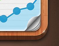 Statistics app icon