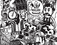 Maillard Butcher & Steak napkin