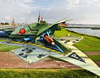 Ondernemen in Lelystad lenticular illustraties