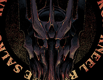 Tshirt - KNEEL BEFORE SAURON - DESIGN FOR SALE