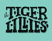 The Tiger Lillies // poster