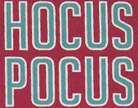 """""""HOCUS POCUS"""" Festival de magia - SISTEMA DE IDENTIDAD"""