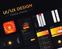 Fiesta Shows App UI/UX Design