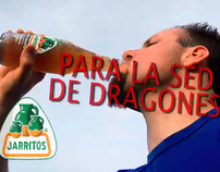 """Dragon Thirst Ready"" (Commercial - Jarritos - Spanish)"