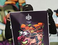 THE AREA503 / Evento de Graffiti