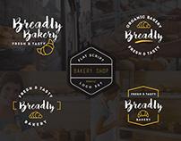10 Bakery Logo Flat Script Logo