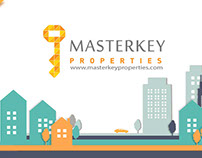 Masterkey Properties Website Design & Graphics
